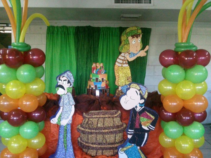 Forum fiesta de cumplea os de bruce chavo del 8 y de - Decoraciones para cumpleanos infantiles ...